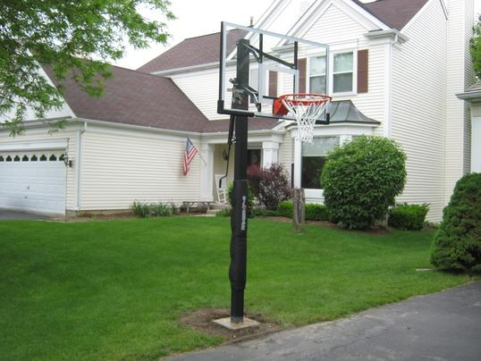 Affordable In-Ground Basketball Hoop Assembly Basketball Goal Installer Service and Cost in Edinburg McAllen TX – Handyman Services of McAllen