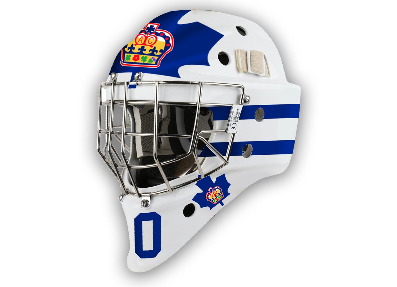 Get your do it yourself goalie mask custom decals