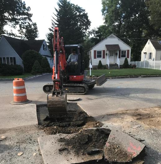 Sewer Line Denville NJ Wolfs Corner Construction
