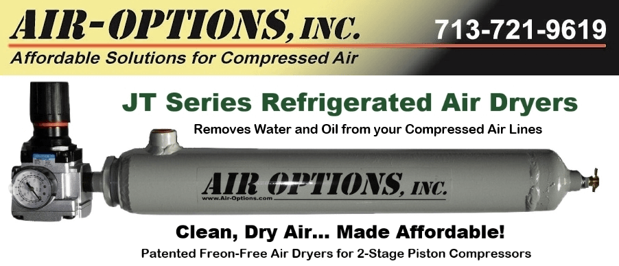 JT Series Air Dryers - Clean, Dry Air at an Affordable Price!