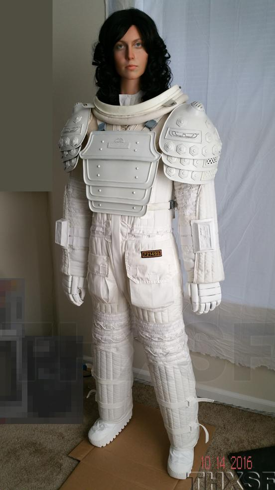 Ellen Ripley Environmental Space suit Alien