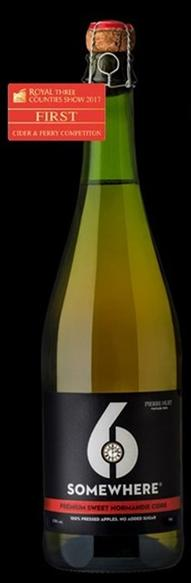 6Somewhere Sweet Cidre 750ml Bottle