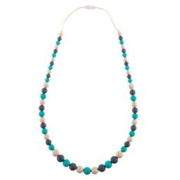 Playdate teether necklace Turquoise Oceana