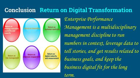performance management, digital master