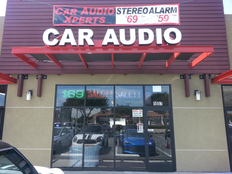 car audio stereo alarm tint custom expert viper pioneer alpine