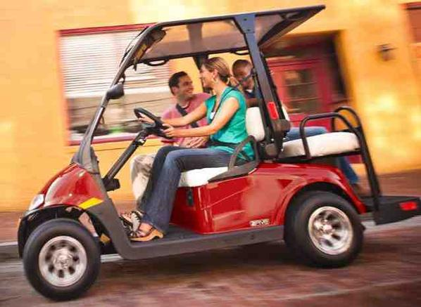 EZGO 2Five cart, Hot Rod Golf Cart