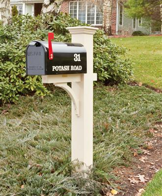 Mailbox installation and repair Wayland MA  Posts & Boxes