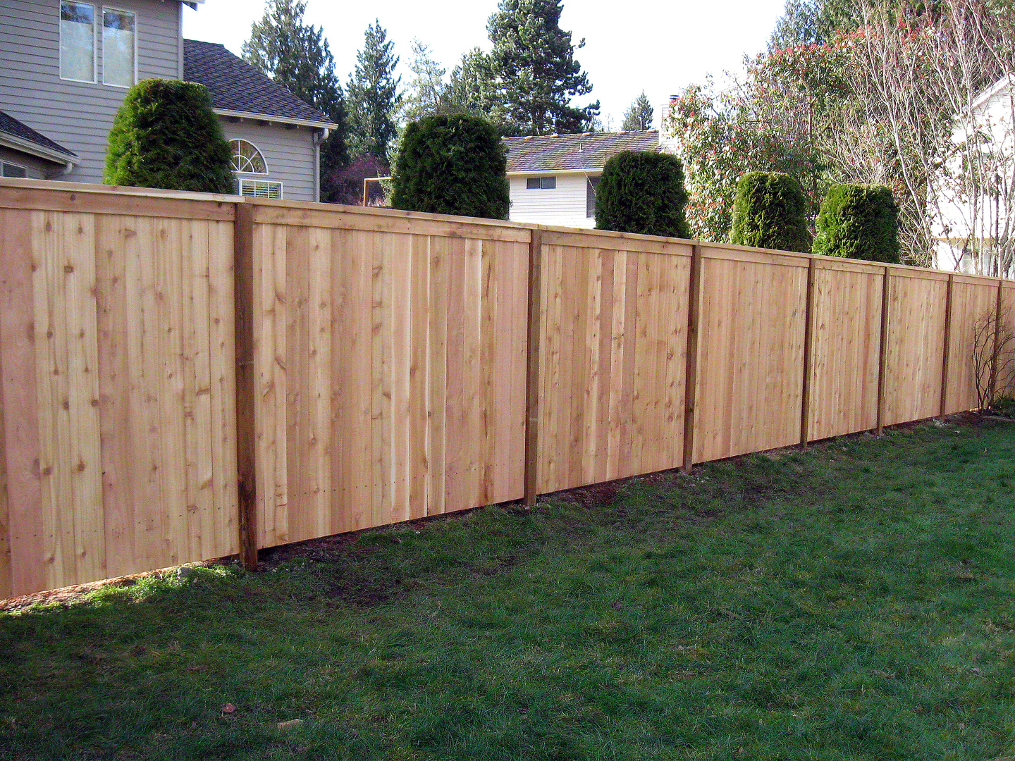 all american fence wood fence installation fence company chain