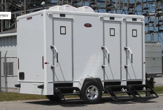 portable bathroom trailers office trailers conex and shipping container rentals and sales serving midwest usa - Trailer Bathroom Rental