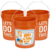 The Home Depot 5 Gallon Homer Bucket from $8.91