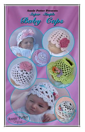Easy Crochet Baby cap pattern