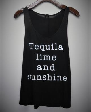 Tequila Lime Sunshine Tank