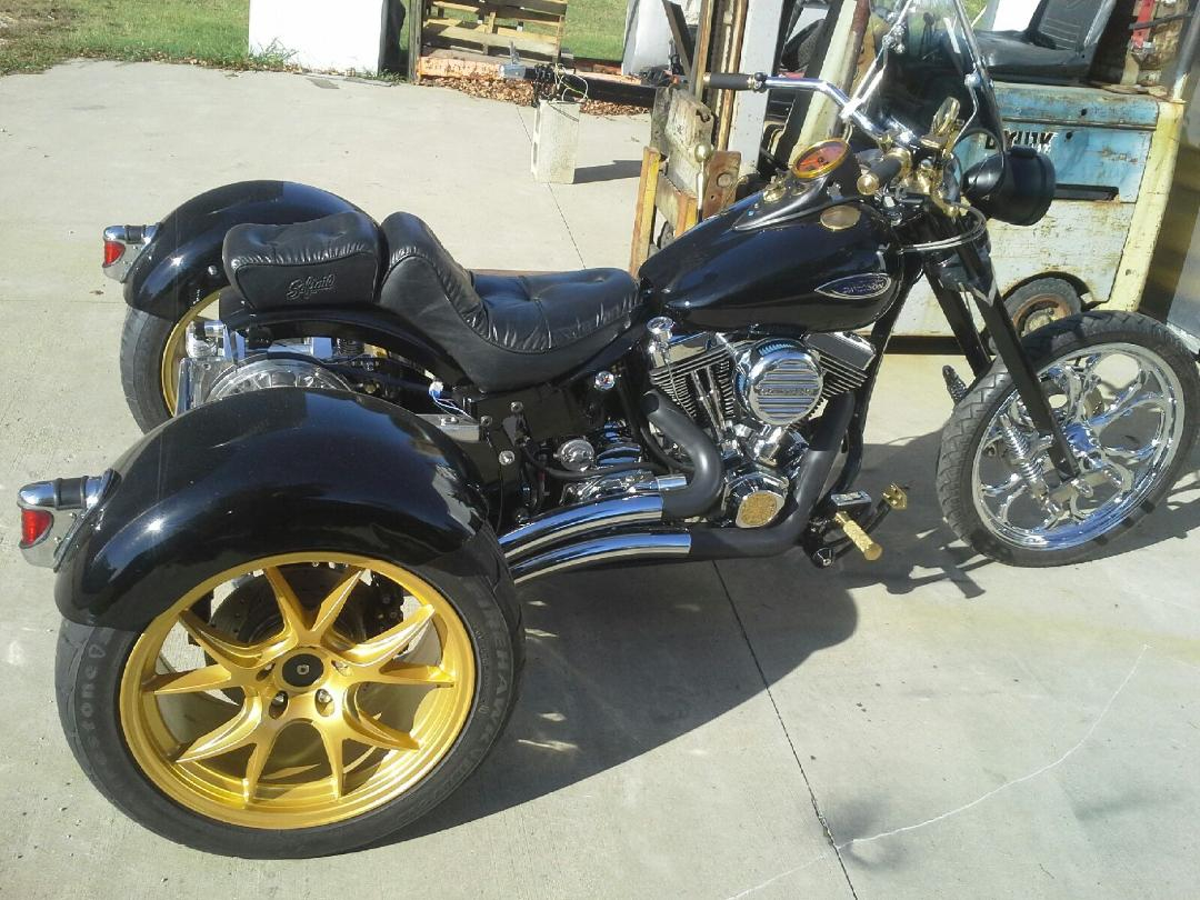 Trike Kits For Harley-davidson Trike Conversion- Irs Trike Kit's