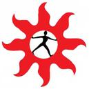 Sumei logo: Woman inside the sun