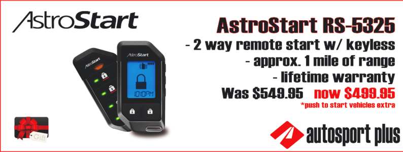 auto start system installed autosport plus canton ohio