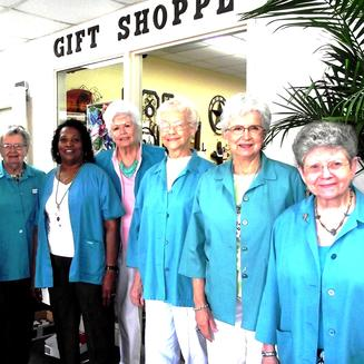 FCHC gift shop volunteers