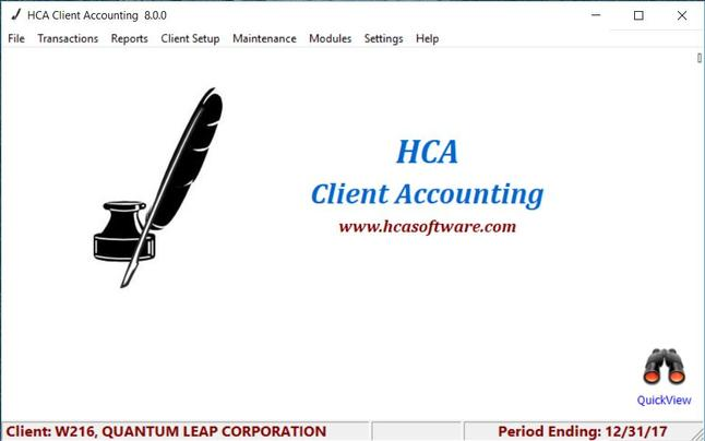 Howell Associates Client Accounting Accounting Software