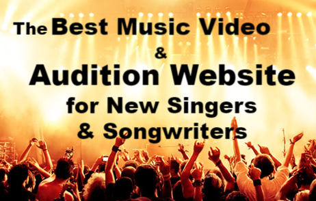 Best Music Videos Best Audition Website New Singers New Songwriters