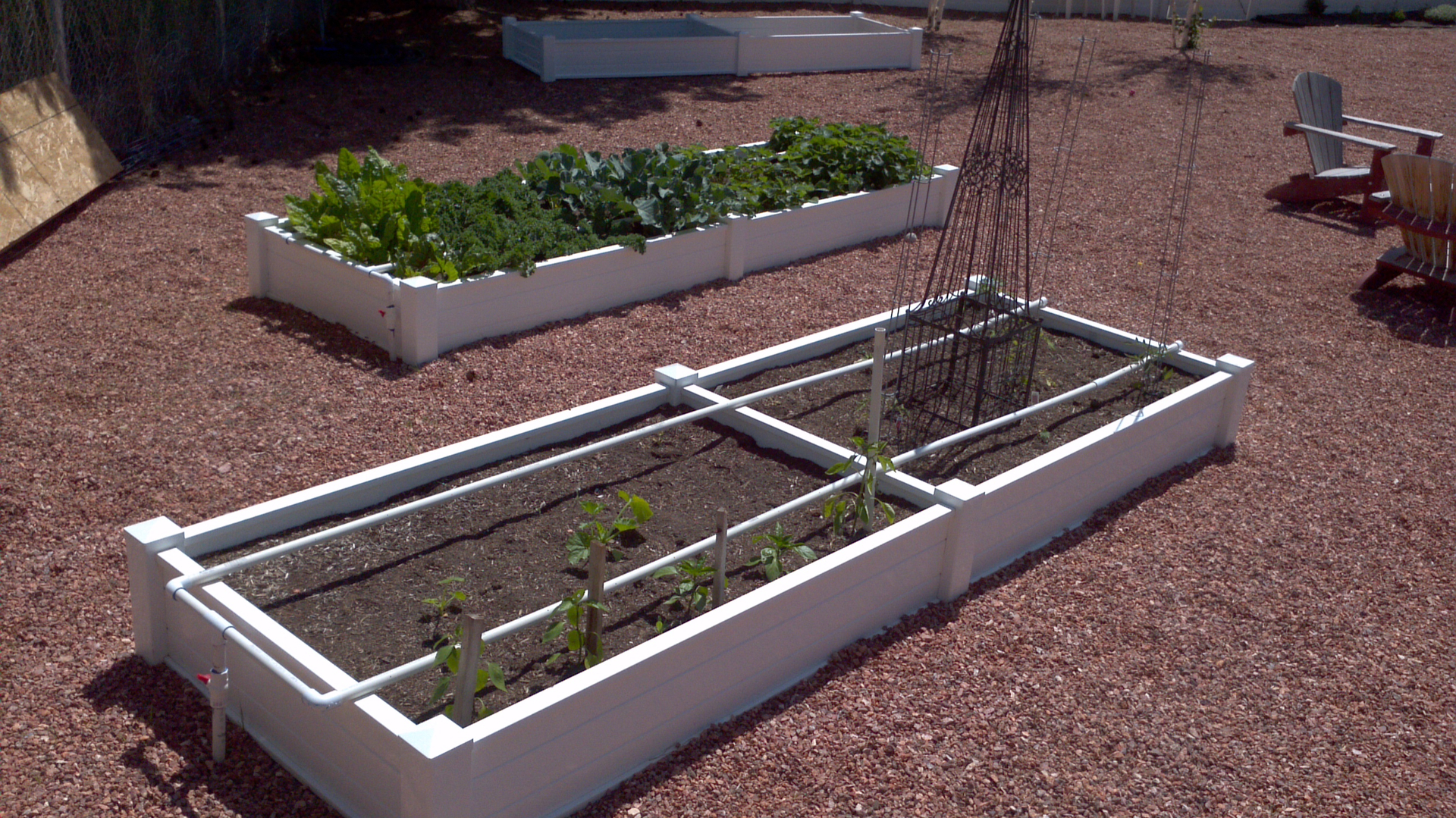 pvc raised for irrigation gardens youtube bed watch