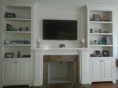 Custom Cabinets and Mantels Services | at Handyman Services of McAllen