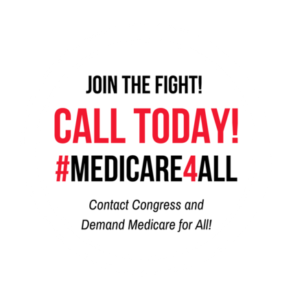 Click here to volunteer for #Medicare4All