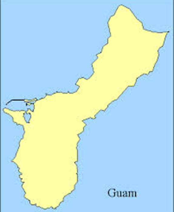 Map Of Guam - Guam map
