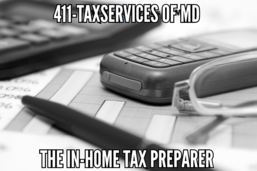 Tax preparation, tax services, tax planning, tax preparer, register tax professional, registered tax preparer, Maryland, MD