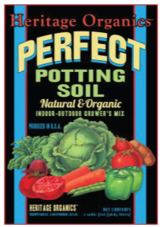 POTTING SOIL ORGANIC CERTIFIED