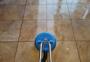 green rhino tile cleaning