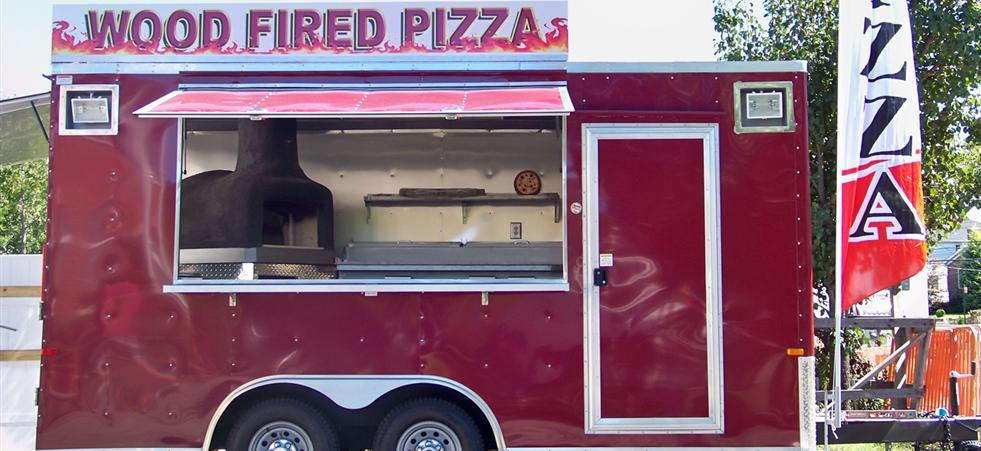 mobile pizza oven catering NYC