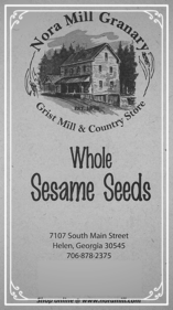 Nora Mill Whole Sesame Seeds Recipes