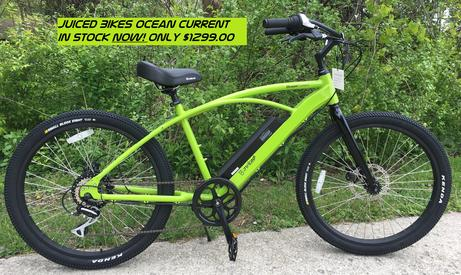 Electric Bicycle Ocean Current