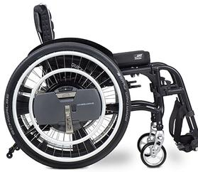 Wheeldrive power add on by HMS Mobility 01458 851591