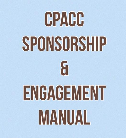 Sponsorship & Engagement Manual