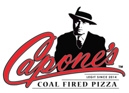Image result for capones pizza log