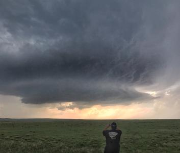 Randy The Outlaw Hicks filming supercell