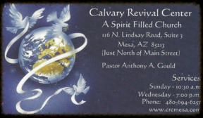 Calvary Revival Center