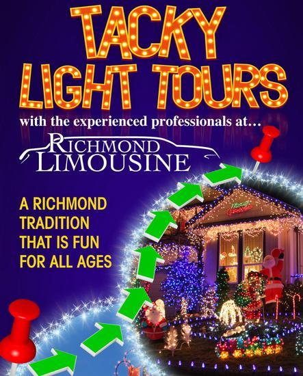 Richmond VA Holiday Light Tours