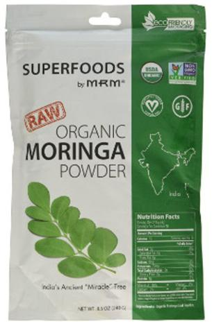 Raw Organic Moringa Powder