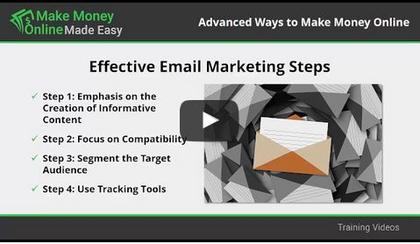 Video Training # 10 - You'll learn that Email Marketing is a powerful tool for acquiring, engaging and retaining customers.