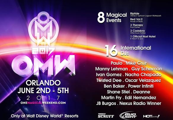 June 02-05, 2017 - Orlando, Florida. One Magical Weekend