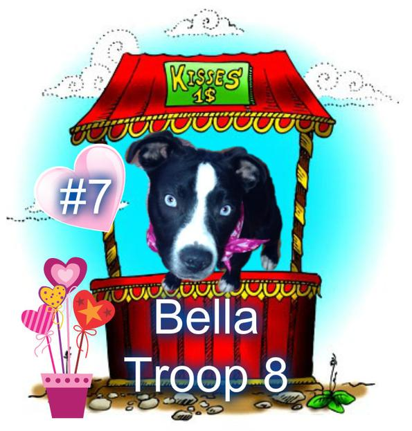 Pup Scouts Bella Troop 8