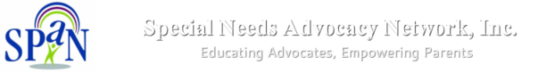 Special Needs Advocacy Network, Inc.