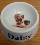 Personalized Custom Printed Dog Bowls and Pet Bowls