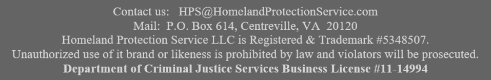 Homeland Protection Service is Trademarked