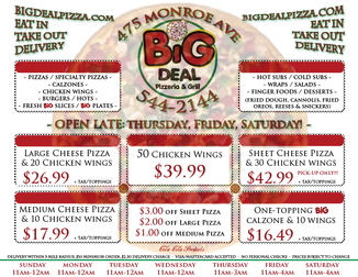SPECIALS / COUPONS