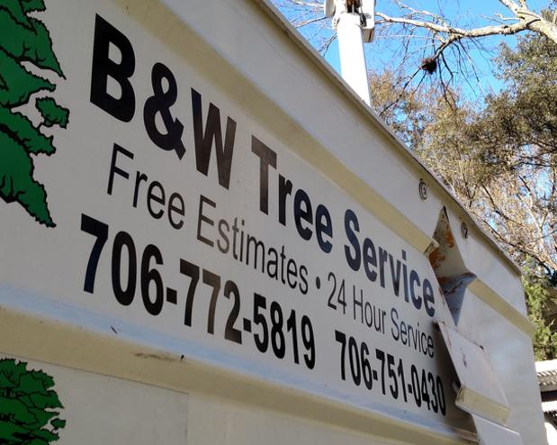 Bucket Truck tree removal free estimates