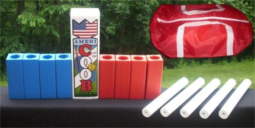 www.kubb.games plastic colorful kubb sets made in the USA - beach game - backyard game - tailgate game - family game - college game - outdoor game - Swedish game - viking game - fun game - new game - plastic kubb - colored kubb - wood kubb - made in USA - Americoob
