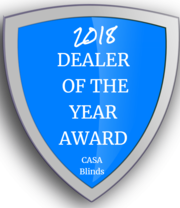 Las Vegas window blinds & Shutters dealer of the year