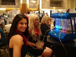 Oxygen Bar for Events and Tradeshows